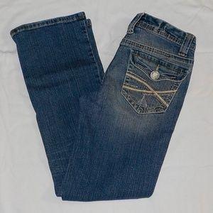 Aeropostale jeans sz 3 Short Chelsea bootcut